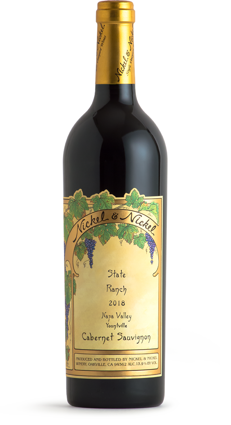 2018 Nickel & Nickel State Ranch Cabernet Sauvignon, Yountville